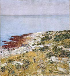 Morning Calm, Appledore | Hassam | Gemälde Reproduktion