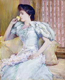 Lillie (Lillie Langtry) | Hassam | Painting Reproduction