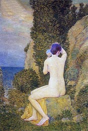 Aphrodite, Appledore, 1908 by Hassam | Painting Reproduction