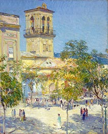 Street of the Great Captain, Cordoba | Hassam | Painting Reproduction