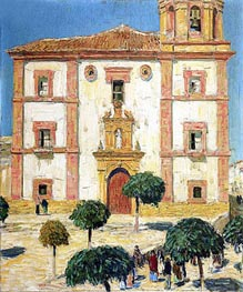 Cathedral at Ronda | Hassam | Gemälde Reproduktion