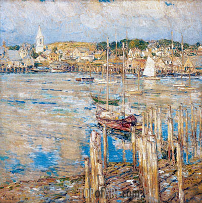 Gloucester, 1899 | Hassam | Painting Reproduction