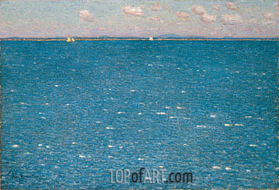 The West Wind, Isles of Shoals, 1904 | Hassam | Gemälde Reproduktion