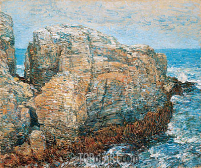 Sylph's Rock, Appledore, 1907 | Hassam | Painting Reproduction