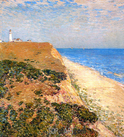 Highland Light, 1900   Hassam   Painting Reproduction