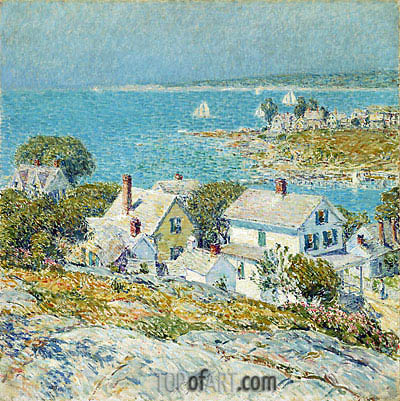 New England Headlands, 1899 | Hassam | Painting Reproduction