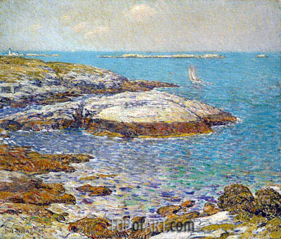 Isles of Shoals, 1899 | Hassam | Painting Reproduction