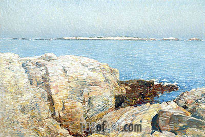 Duck Island, 1906 | Hassam | Painting Reproduction