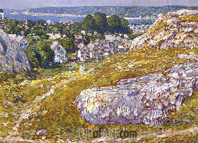 Norman's Woe, Gloucester, Massachusetts, 1918 | Hassam | Painting Reproduction