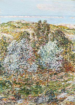 Springtime Vision, 1900 | Hassam | Painting Reproduction