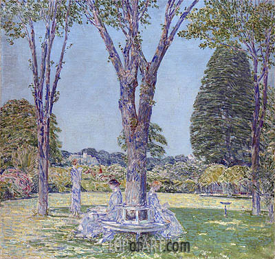 The Audition, East Hampton, 1924 | Hassam | Painting Reproduction