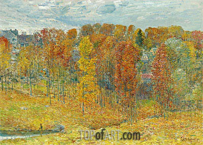 Autumn, 1909 | Hassam | Painting Reproduction
