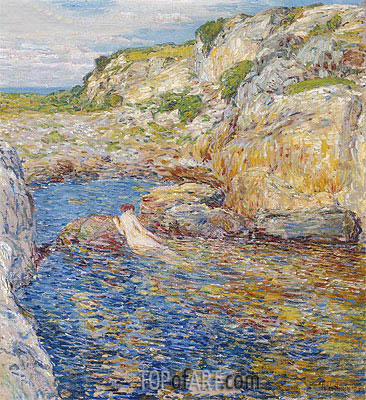 Rockweed Pool, 1902 | Hassam | Painting Reproduction