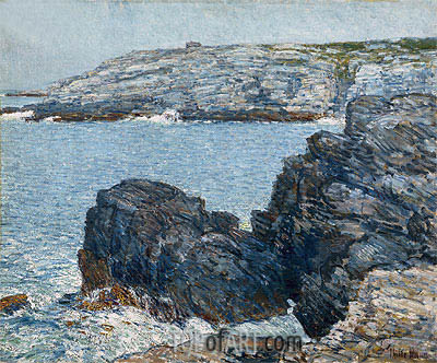 Headlands, 1908 | Hassam | Painting Reproduction