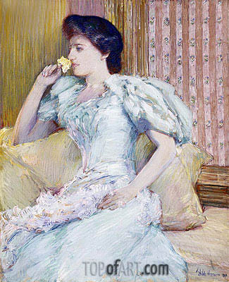 Lillie (Lillie Langtry), c.1898 | Hassam | Painting Reproduction
