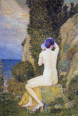 Aphrodite, Appledore, 1908 | Hassam | Painting Reproduction