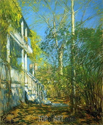 Summer at Cos Cob, 1902 | Hassam | Painting Reproduction