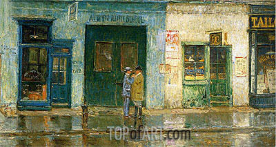 Little Cobbler's Shop, 1912 | Hassam | Gemälde Reproduktion