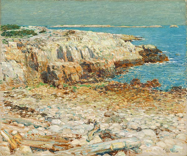 A North East Headland, 1901 | Hassam | Painting Reproduction