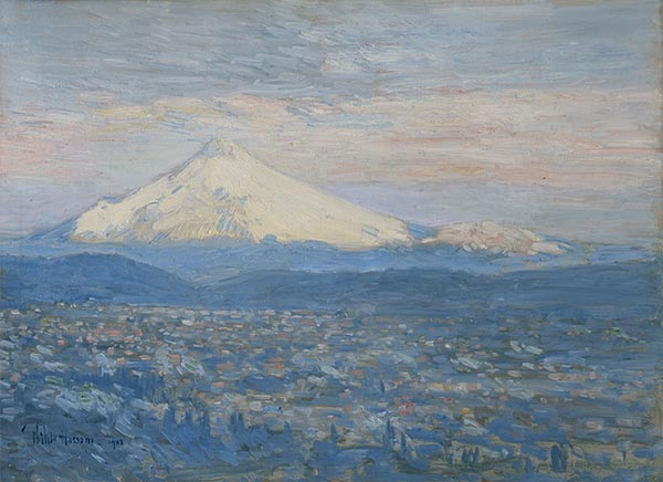 Mount Hood, 1881 | Hassam | Painting Reproduction