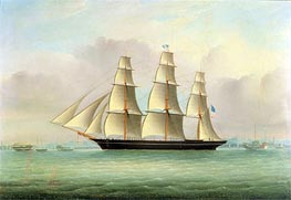 A Sea Witch Clipper, undated by Chinese School | Painting Reproduction