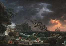 The Shipwreck | Claude-Joseph Vernet | Painting Reproduction
