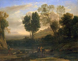 Sunrise, c.1646/47 by Claude Lorrain | Painting Reproduction