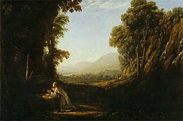 Landscape with Saint Mary of Cervello | Claude Lorrain | Gemälde Reproduktion