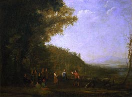 Rustic Dance | Claude Lorrain | Painting Reproduction