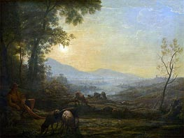 The Herdsman | Claude Lorrain | Painting Reproduction