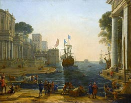 Ulysses Returns Chryseis to Her Father, c.1644 by Claude Lorrain | Painting Reproduction