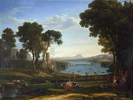 The Mill, 1648 by Claude Lorrain | Painting Reproduction