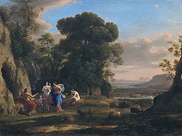 The Judgment of Paris | Claude Lorrain | Gemälde Reproduktion
