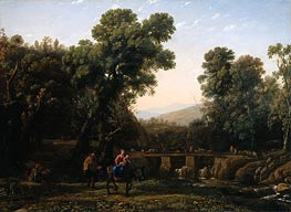 The Flight Into Egypt | Claude Lorrain | Gemälde Reproduktion