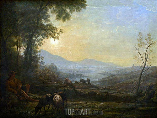 The Herdsman, undated | Claude Lorrain | Gemälde Reproduktion