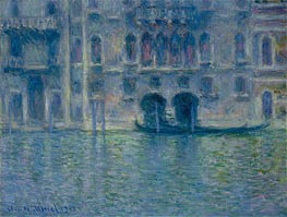 Palazzo da Mula, Venice, 1908 by Monet | Painting Reproduction