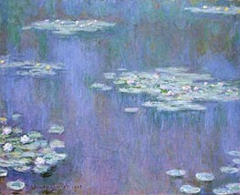 Water Lilies, 1905 by Monet | Painting Reproduction