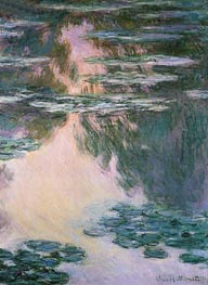 Water Lily Pond, 1907 by Monet | Painting Reproduction
