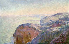At the Val Saint-Nicolas, near Diepper, Morning, 1897 by Monet | Painting Reproduction