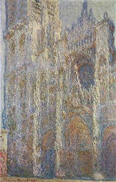 Rouen Cathedral at Midday, 1894 von Monet | Gemälde-Reproduktion