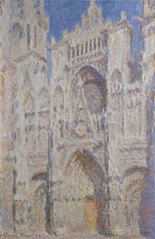 Rouen Cathedral: The Portal (Sunlight) | Monet | Painting Reproduction
