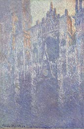 Rouen Cathedral, The Portal, Morning Fog | Monet | Painting Reproduction