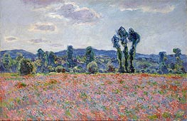 Poppy Field | Monet | Painting Reproduction