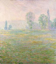 Meadows at Giverny | Monet | Painting Reproduction
