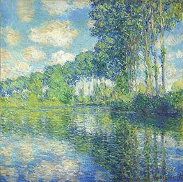Poplars on the Epte | Monet | Painting Reproduction