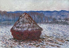 Stack of Wheat | Monet | Painting Reproduction