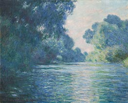 Branch of the Seine near Giverny | Monet | Gemälde Reproduktion