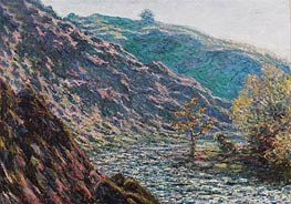 The Petite Creuse River (The Old Tree at the Confluence) | Monet | Gemälde Reproduktion