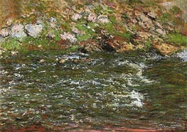 Rapids on the Petite Creuse at Fresselines | Monet | Gemälde Reproduktion