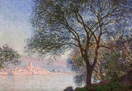 Antibes Seen from the Salis Gardens, 1888 by Monet | Painting Reproduction